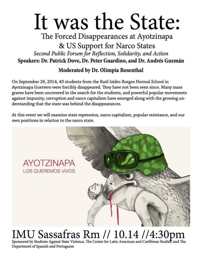 ayotzinapaflyer